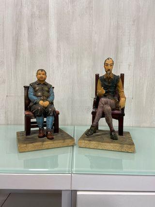 Figuras de resina para sujetar libros o adorno