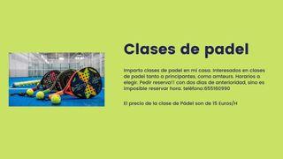 CLASES DE PADEL LÉSPLAI