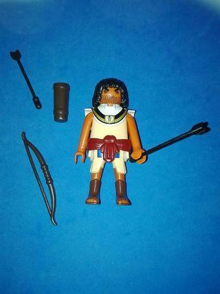 Numero 117 playmobil arquero egipcio egipto belen