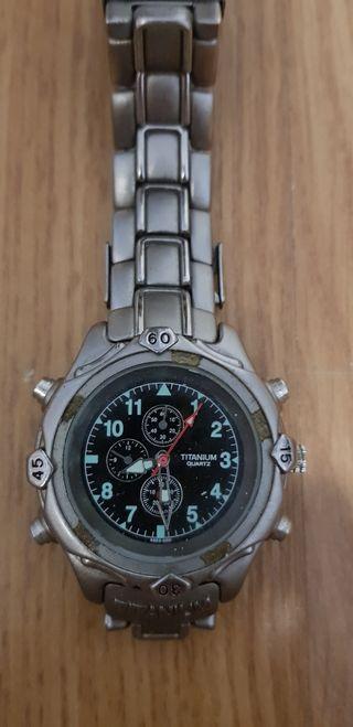 Reloj hombre Titanium