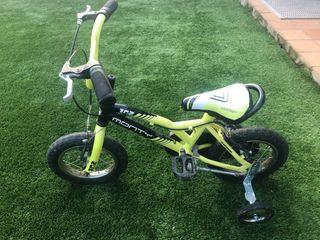 Bicicleta niño monty