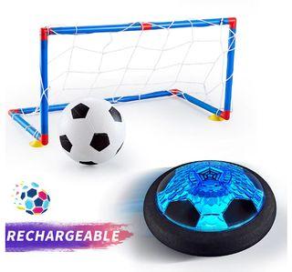 Air Hover-portería de fútbol para niño, led