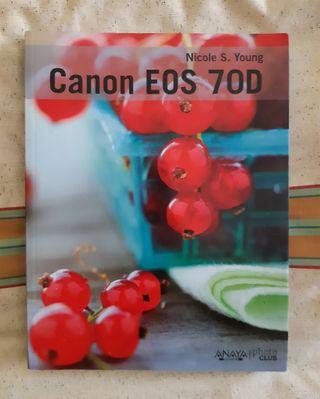 Libro manual Canon 70D