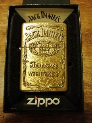 zippo Jack Daniel's gold