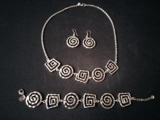 Conjunto de plata