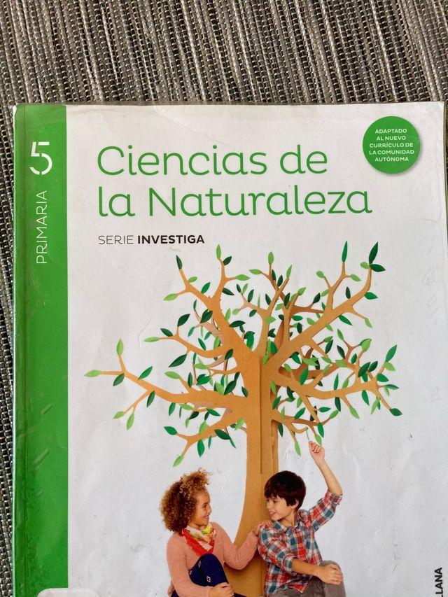 Ciencias de la naturaleza 5 primara Santillana