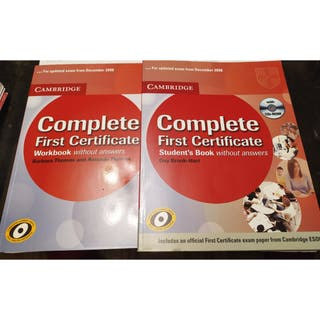 Complete First Certificate CAMBRIDGE