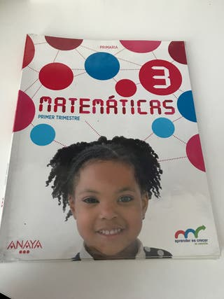Libros de 3 primaria MATEMATICAS