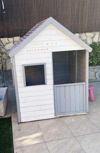 casita infantil madera jardin