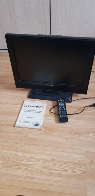 televisión en color vanguard. Con mando
