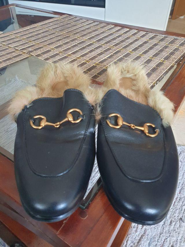 Gucci chanclas n°38