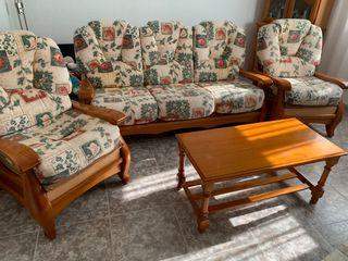 Sofa + sillones + mesa centro