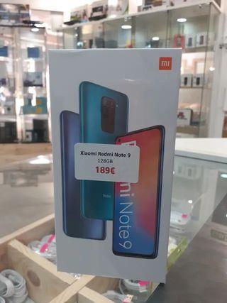 Xiaomi Redmi Note 9 128GB GRIS/VERDE