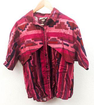 camisa vintage navajo