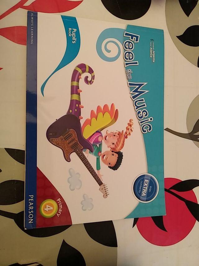 libro de música de cuarto de primaria el inglés