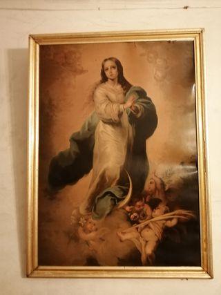 cuadro religioso inmaculada