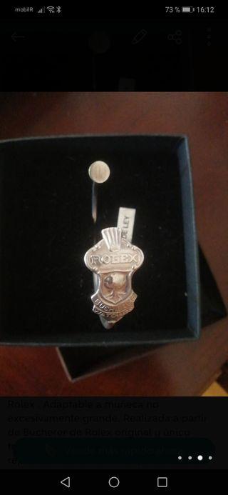 pulsera plata Rolex