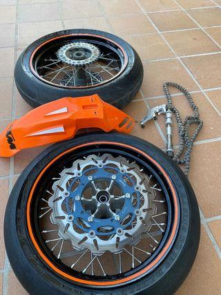 Kit ruedas supermotard