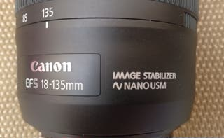 Canon EF-S 18-135mm IS USM
