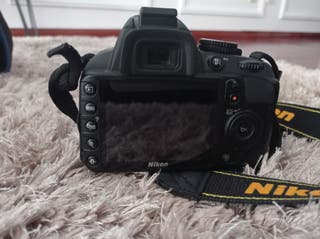 cámara fotos Nikon D3100