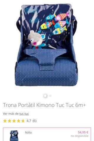 Trona portátil + 6 meses TUC TUC