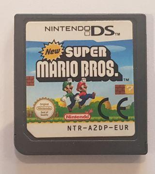 Videojuego New Super Mario Bros Para Ds.