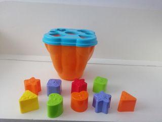 figuras puzzle cubo.