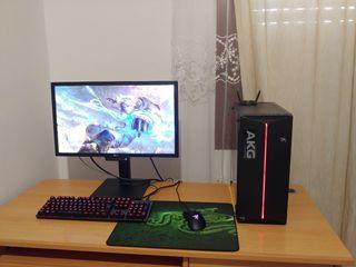 PC gaming Completo(caja, pantalla, teclado, raton)