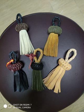 Llaveros de cuero artesanales
