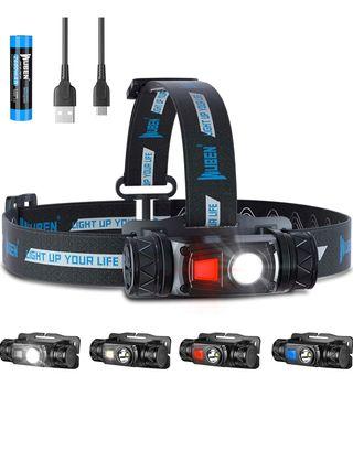 Linterna Frontal LED Alta Potencia,