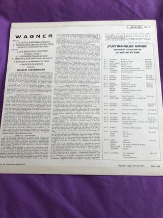 Vinilo Piezas de Wagner