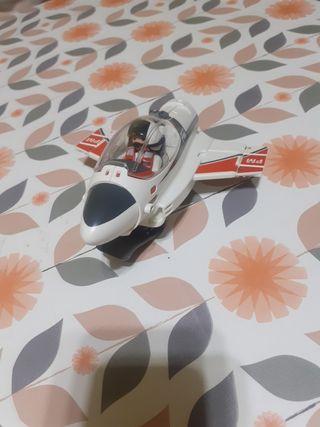 avión cohete playmobil