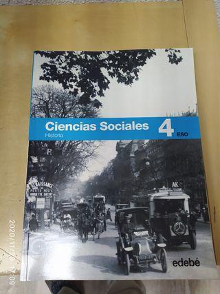 Edebe - Ciencias sociales, historia, 4 ESO