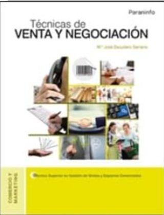 Técnicas de venta y negociación PDF