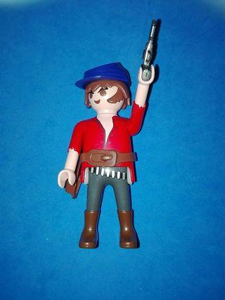 Numero 314 playmobil vaquero pistolero oeste