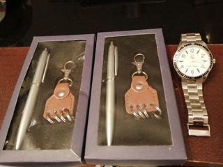Lote reloj real madrid