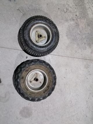 ruedas traseras mini quad