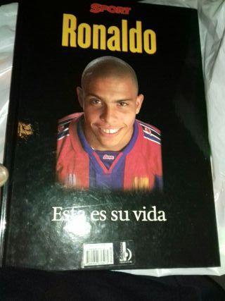 libro vida de Ronaldo Nazario