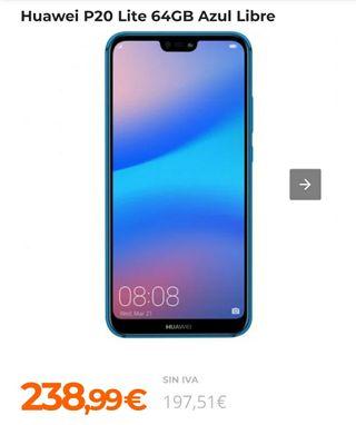 Huawei P20lite azul
