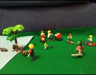 """Playmobil, """"En el parqué"""""""