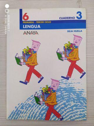 LIBRO DE TEXTO LENGUA 6º PRIMARIA- cuaderno 3