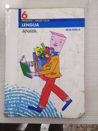 LIBRO DE TEXTO LENGUA 6º PRIMARIA