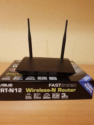 Router, punto de acceso y repetidor Asus RT-N12