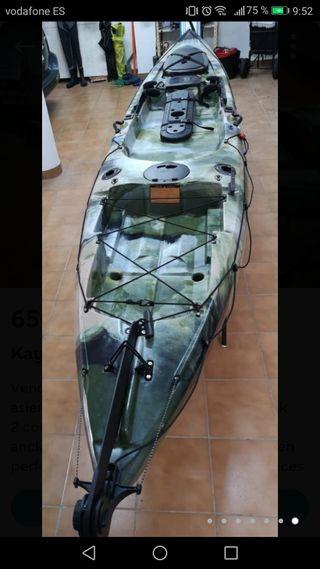 Kayak Pro Angler 14 con sonda.