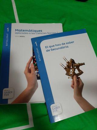 Libro MATES 1Bach. social