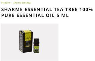 TEA TREE 100% PURE ESSENTIAL OIL 5 ML