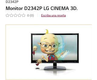 """MONITOR LG CIMEMA 23"""" 3D"""