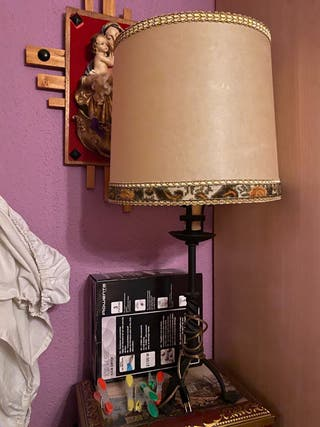 Juego de 2 lámparas antiguas