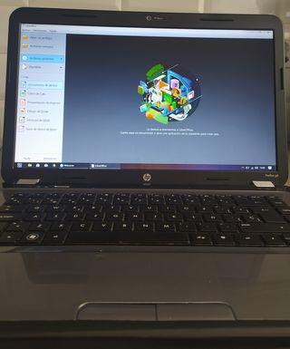 Portátil HP i5 con SSD