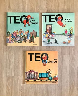 3 Libros de TEO